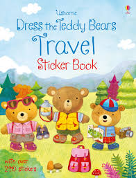 dress the teddy bears travel sticker book u201d at usborne children u0027s books