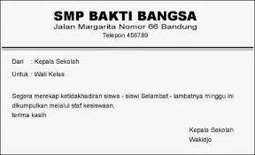 contoh surat indonesia contoh memo dan penulisannya mei 2015