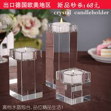 candlestick ornaments dining table wedding wedding candle
