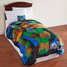 Teenage Mutant Ninja Turtles Twin Bed Set by Nickelodeon Teenage Mutant Ninja Turtles Plush Blanket