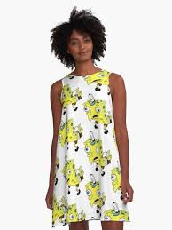 Dress Meme - mocking spongebob meme a line dress by slendykins redbubble