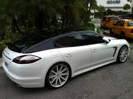 Porsche Panamera All White - white black porsche panamera with painted roof exotic cars on