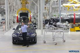 bmw manufacturing plant in india bmw localization in india reaches 50 percent sachin tendulkar