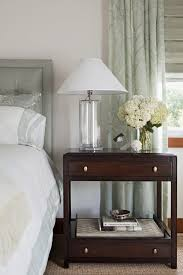 Traditional Table Lamps For Bedroom - lacquered nightstands and bedside tables bedroom traditional with