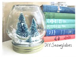 christmas craft snowglobes no water youtube