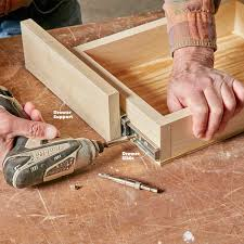kitchen cabinets drawer slides how to build an under cabinet drawer u2014 the family handyman