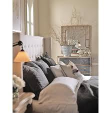 lennox uptown modern classic cream linen wingback queen bed