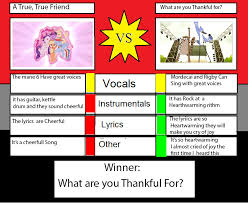 a true true friend mlp vs thanksgiving song rs by maxed32 on
