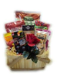 Organic Gift Baskets Athlete Gift Basket With Organic Healthy Foods Gift Ideas For