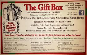 gift box news the gift box milwaukee gift shop full of gift