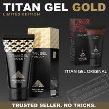 titan gel titan gel gold limited edition official product by