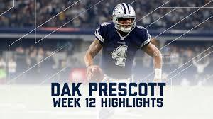 what nfl games are on thanksgiving day dak prescott u0027s 2 td day redskins vs cowboys nfl week 12
