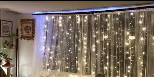 warm white string fairy lights warm white christmas lights christmas crazy 300led window curtain