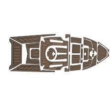 marinemat pro angler 14 elite deck mat kayak kit teak