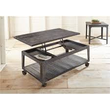 lift top coffee table with wheels industrial tobacco brown barn wood lift top coffee table sherlock