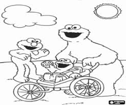sesame street coloring pages printable games