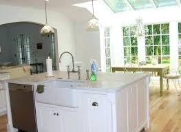 kitchen island with sink and dishwasher kitchen islands with sink thedailygraff
