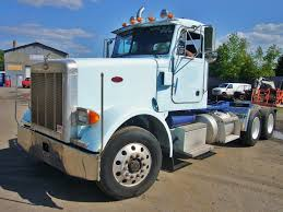 used peterbilt trucks 1997 peterbilt 373 tandem axle day cab tractor for sale by arthur