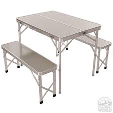 portable picnic table with benches direcsource ltd 100690