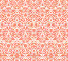 50s Design Linear Geometric Pattern 50s Wallpaper Design Stock Image Image