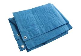 M To Ft by Heavy Duty Blue Tarpaulin Tarp Ground Sheet Waterproof Cover