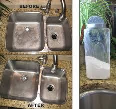 shine stainless steel sink cleaning a stainless steel sink