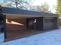 cuisine de jardin en abri de jardin en bois avec terrasse abt construction bois
