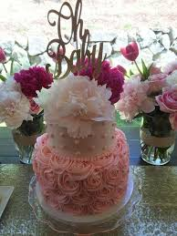 gold and pink baby shower gold pink baby shower baby shower party ideas 2578392