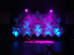 church backdrops how to create big stages with small budgets materials supplies