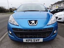 peugeot 207 2011 used peugeot 207 1 4 vti sportium 3dr 3 doors hatchback for sale