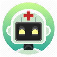 android bot android app icon bot doctor health robot icon icon