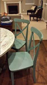 target french country x back dining chairs antique blue kitchen
