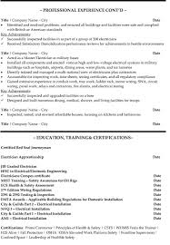 electrician resume examples 13 useful materials for automotive