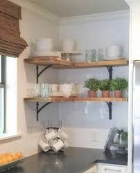 Open Metal Shelving Kitchen by Best 10 Corner Shelves Kitchen Ideas On Pinterest Corner Wall