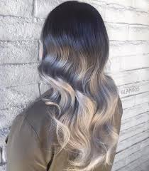 how to blend in gray roots of black hair with highlights 60 best ombre hair color ideas for blond brown red and black hair