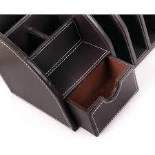 Leather Desk Accessories Organizers by Osco Desk Organiser Large Faux Leather Desk Tidy Desk