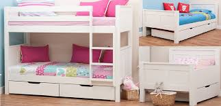 Stompa Bunk Beds Rainbow Wood The Uk S Premier Children S Bed Specialists