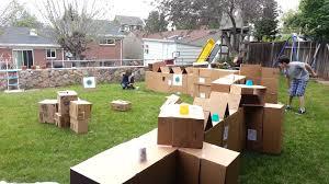 nerf war in our backyard youtube