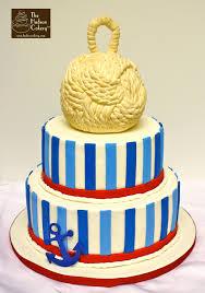 nautical cake anchor nautical cake the hudson cakery