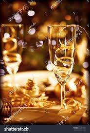 picture christmas table setting retro style stock photo 122312863