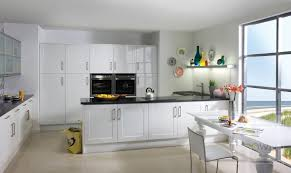 White High Gloss Kitchen Cabinets The Most Original Options For Designing Your Kitchen Shelving