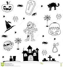 halloween background tombs halloween doodle stock vector 121779055 shutterstock doodle of