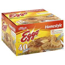 Eggo Toaster Waffles Eggo Homestyle Waffles Shop Waffles And Pancakes At Heb