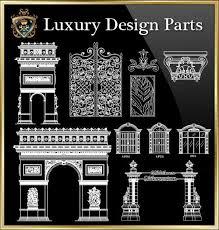 autocad architektur royal architecture design block 4 autocad blocks autocad
