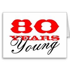 60 years birthday card 80th birthday card for 80 years men or women 80th birthday