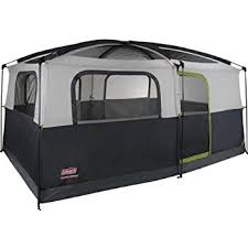 cabin tent coleman prairie 9 person cabin tent black and