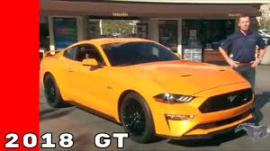 2018 ford mustang gt review exhaust u0026 interior youtube
