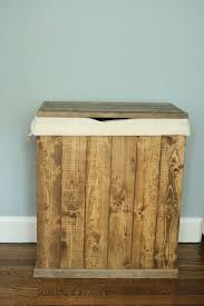 Clothes Hampers With Lids Minimalist Clothes Hamper Laundry Basket Bathroom Wooden Storage