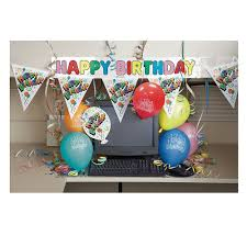 decorating coworkers desk for birthday amazon com office birthday party cubicle decoration kit 7pc