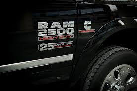 cummins truck white cummins releases 25th anniversary package for ram trucks truck trend